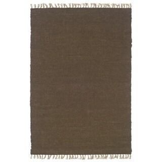 Linon Verginia Berber Cocoa Area Rug (3'5 x 5'5)