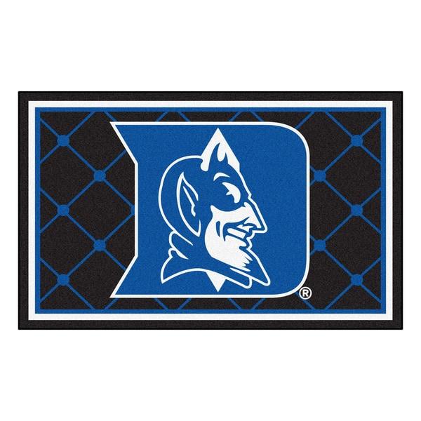 Fanmats NCAA Duke University Area Rug (4' x 6')