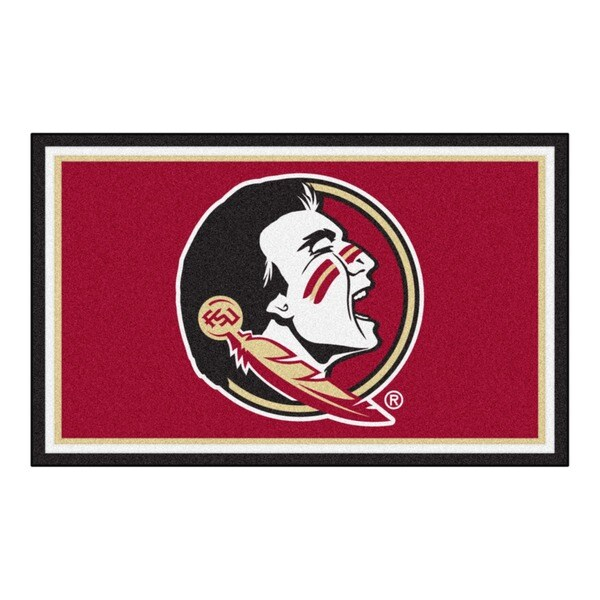 Fanmats NCAA Florida State University Area Rug (4' x 6')