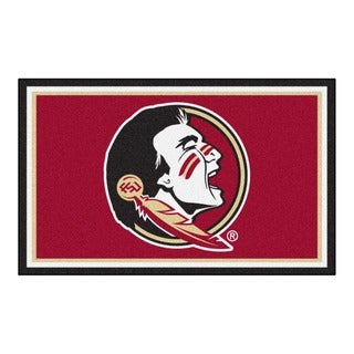 Fanmats NCAA Florida State University Area Rug (4' x 6')