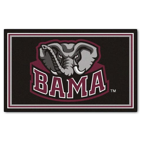 FANMATS University of Alabama 4x6 Rug