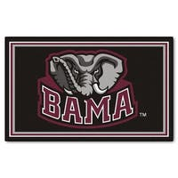 Fanmats NCAA University of Alabama Area Rug (4' x 6')