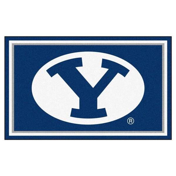 Fanmats NCAA BYU Area Rug (4' x 6')