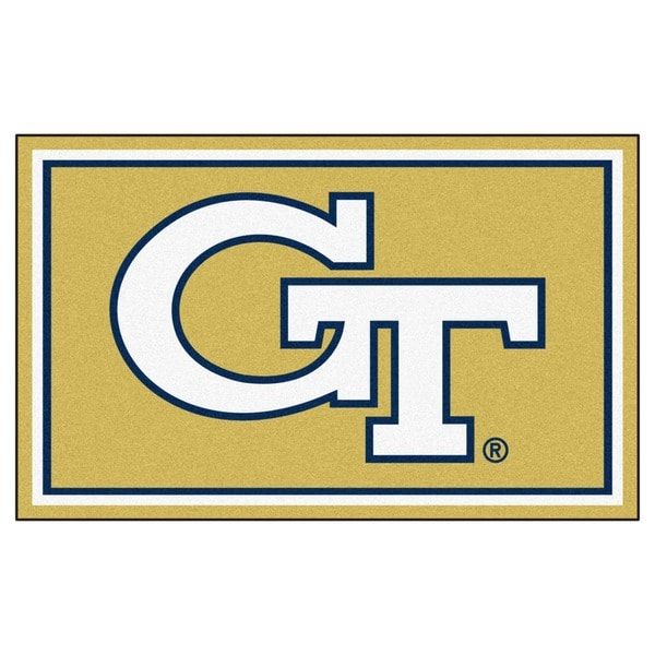 Fanmats NCAA Georgia Tech Area Rug (4' x 6')