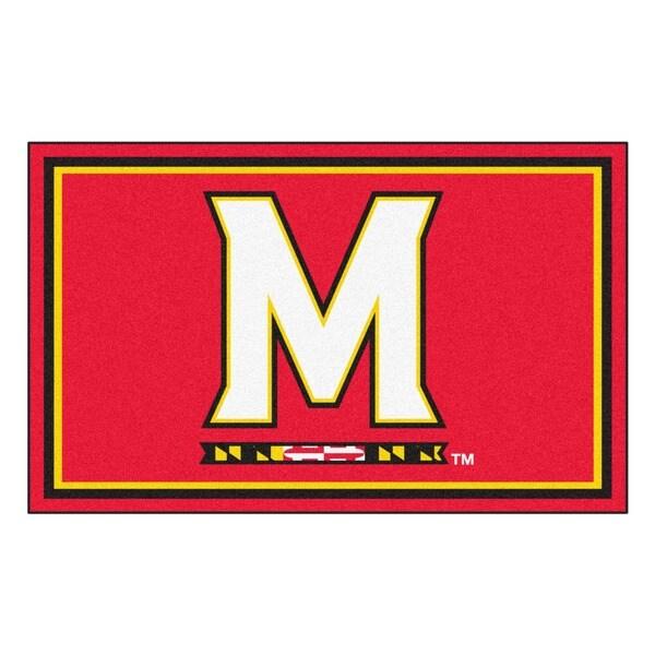 Fanmats NCAA University of Maryland Area Rug (4' x 6')