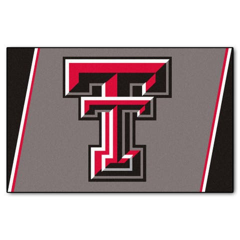 Fanmats Texas Tech University Area Rug (4 x 6)