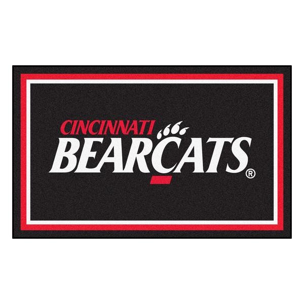 Fanmats NCAA University of Cincinnati Area Rug (4' x 6')