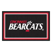 Fanmats NCAA University of Cincinnati Area Rug (4' x 6')