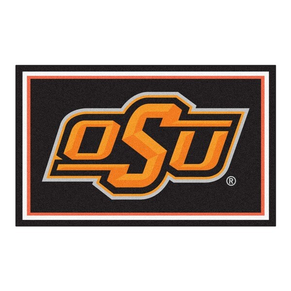 Fanmats Oklahoma State University Area Rug (4 x 6)