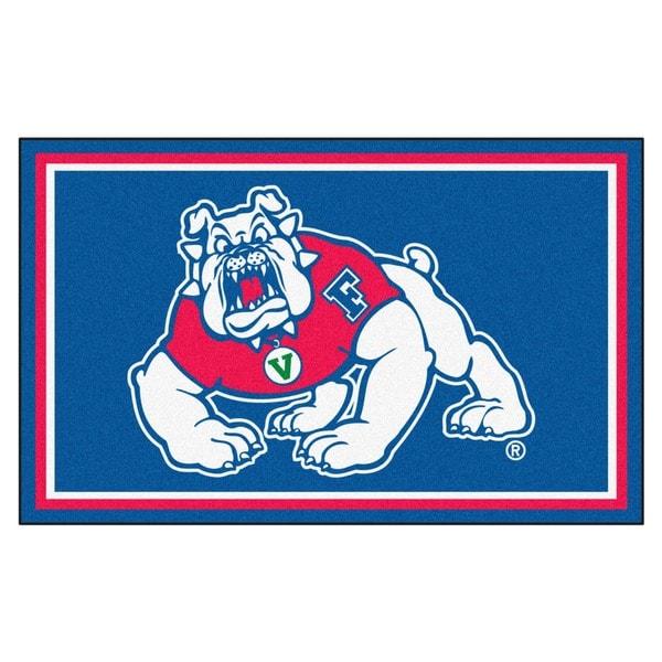 Fanmats NCAA Fresno State Area Rug (4' x 6')