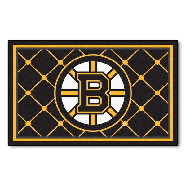 Fanmats Nhl Boston Bruins Area Rug