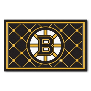 Fanmats NHL Boston Bruins Area Rug (4' x 6')