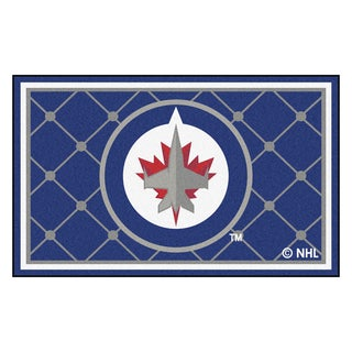 Fanmats NHL Winnipeg Jets Area Rug (4' x 6')