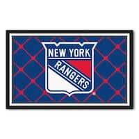 Fanmats NHL New York Rangers Area Rug (4' x 6')