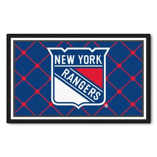 Fanmats NHL New York Rangers Area Rug (4' x 6')