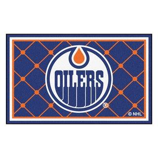 Fanmats Edmonton Oilers Area Rug (4 x 6)