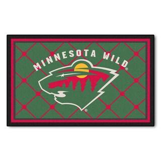 Fanmats Minnesota Wild Area Rug (4 x 6)