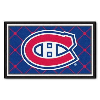 Fanmats NHL Montreal Canadiens Area Rug (4' x 6')