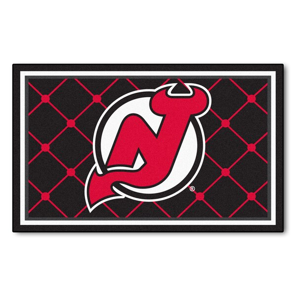 Fanmats NHL New Jersey Devils Area Rug (4' x 6')