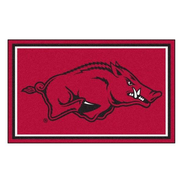 Fanmats University of Arkansas Area Rug (4 x 6)