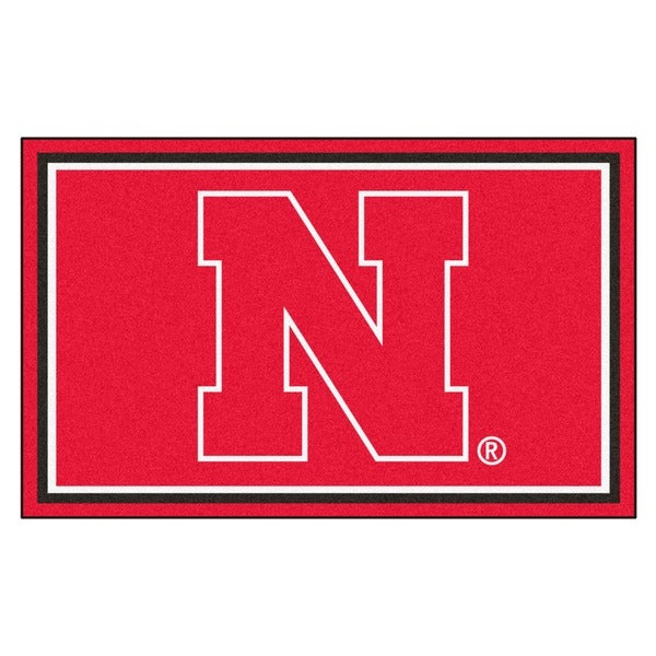 Fanmats University of Nebraska Area Rug (4 x 6)