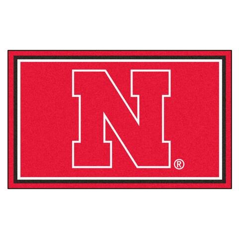Fanmats University of Nebraska Area Rug (4 x 6)