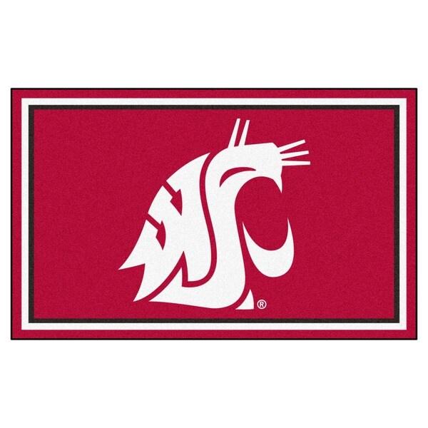 Fanmats Washington State University Area Rug (4 x 6)