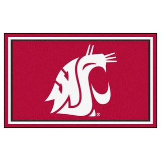 Fanmats Washington State University Area Rug (4 x 6)
