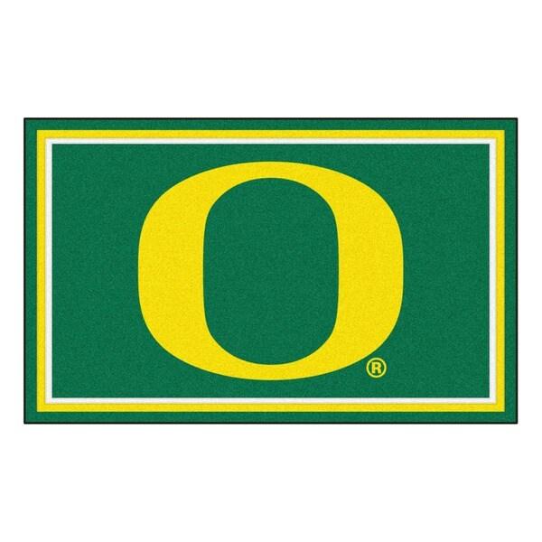 Fanmats NCAA University of Oregon Area Rug (4' x 6')