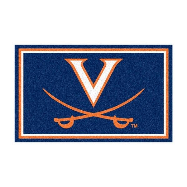 Fanmats NCAA University of Virginia Area Rug (4' x 6')