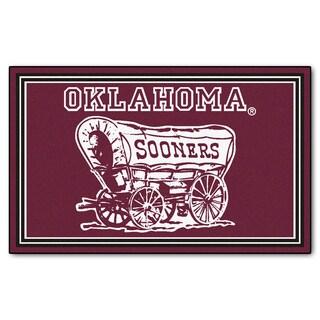 Fanmats NCAA University of Oklahoma Area Rug (4' x 6')