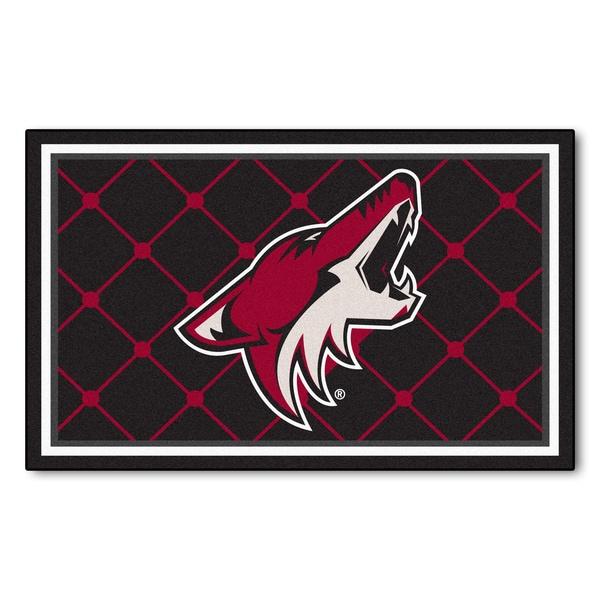 Fanmats NHL Phoenix Coyotes Area Rug (4' x 6')