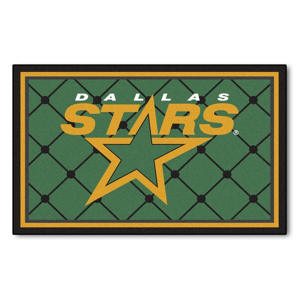 Fanmats NHL Dallas Stars Area Rug (4' x 6')