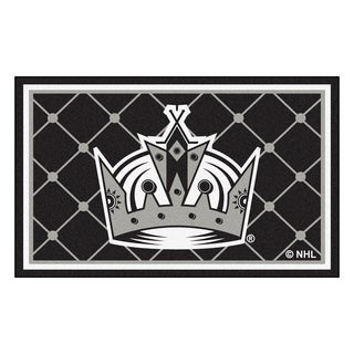 Fanmats NHL Los Angeles Kings Area Rug (4' x 6')