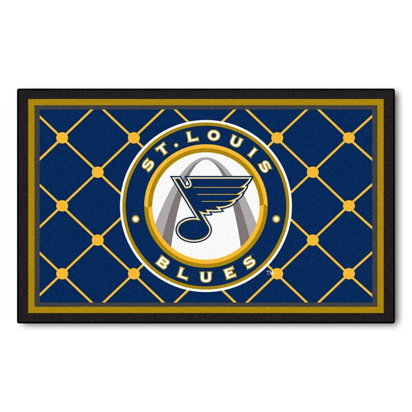 Fanmats St Louis Blues Area Rug (4 x 6)