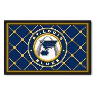 Fanmats St Louis Blues Area Rug (4 x 6)