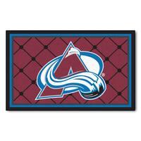 Fanmats NHL Colorado Avalanche Area Rug (4' x 6')