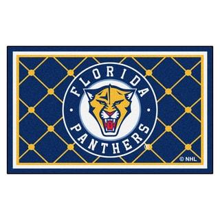 Fanmats NHL Florida Panthers Area Rug (4' x 6')