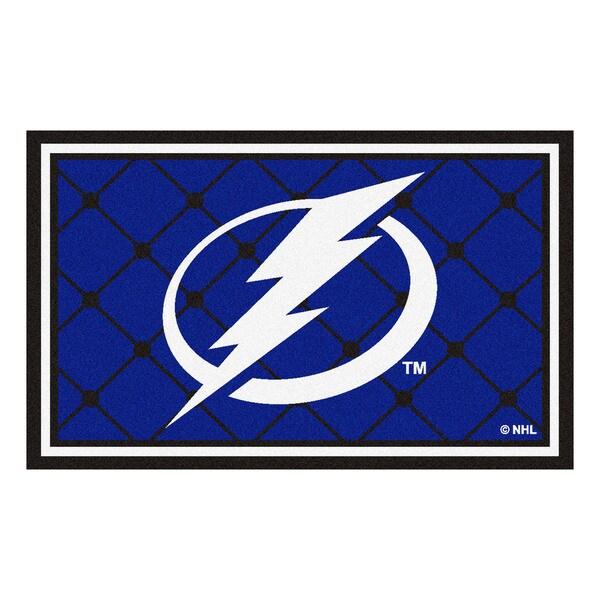 Fanmats Tampa Bay Lightning Area Rug (4 x 6)