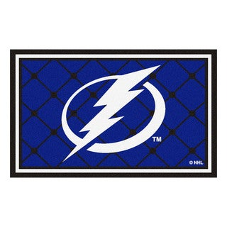 Fanmats Tampa Bay Lightning Area Rug (4 x 6)