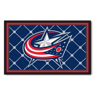 Fanmats Columbus Blue Jackets Area Rug (4 x 6)