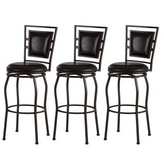 Linon Adjustable Bar Stools (Set Of 3)