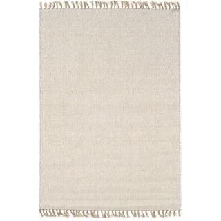 Linon Verginia Berber Natural/ Ivory Area Rug (7'10 x 10'4)