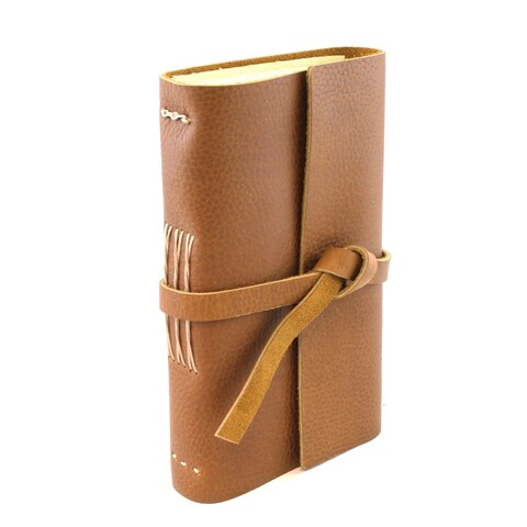 Lithyc Large Handmade Leather Journal and Closure
