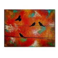 Nicole Dietz 'Birds of Flight' Canvas Art
