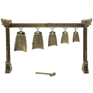 Handmade Tibetan Five Bell Gong (China)