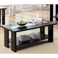 Furniture of America Esteluna LED-strip Modern Coffee Table