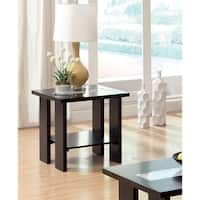 Furniture of America Esteluna LED-strip Modern End Table