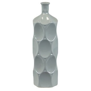 Small Grey Ceramic Bottle