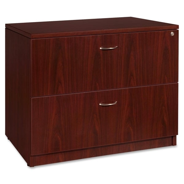 Lorell Essentials Mahogany Lateral File   N/A